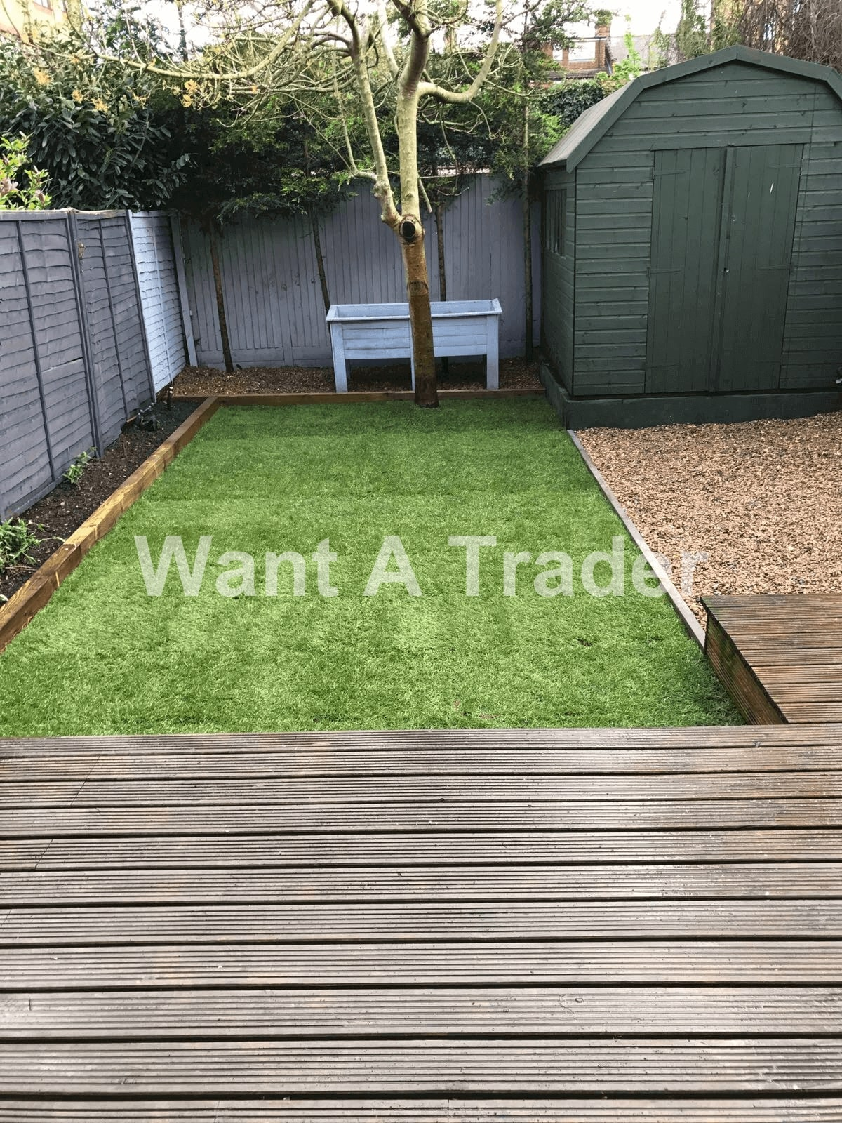 Hardwood Garden Decking Contractor Croydon CR0