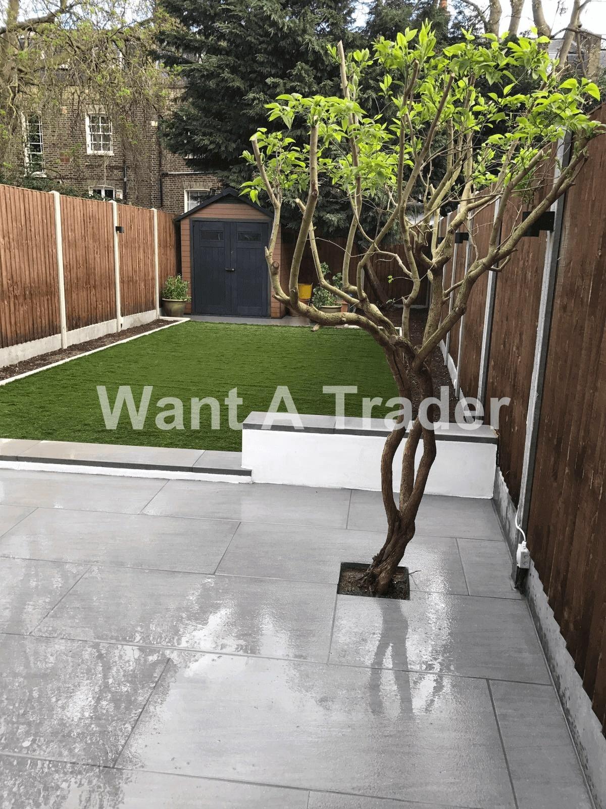 Garden Design and Installation Contractor Croydon CR0