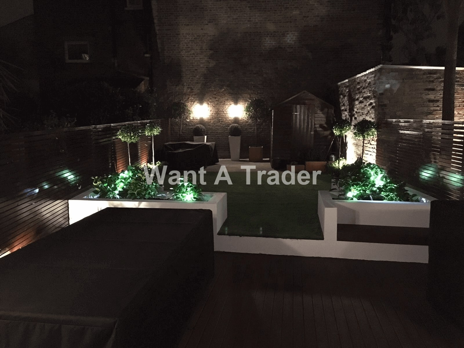 Garden Lighting Installation Company Croydon CR0
